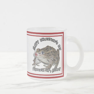 Kissing Frog for Valentine's Day Mugs