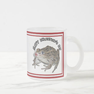 Kissing Frog for Valentine's Day Coffee Mug