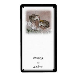 Kissing Frog & Her Frog Prince Label
