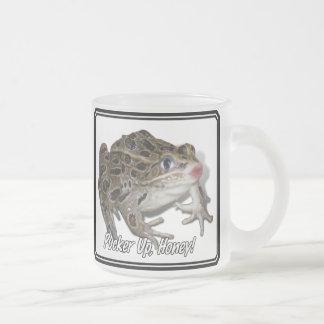Kissing Frog - Pucker Up, Honey! Coffee Mug