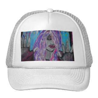 Kissing Glass Truckers Hat