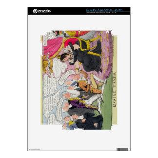 Kissing Hands, published 1827 (colour litho) iPad 3 Skins