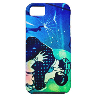 Kissing in the Moonlight at the Statue of Liberty iPhone 5 Cases