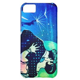 Kissing in the Moonlight at the Statue of Liberty Cover For iPhone 5C