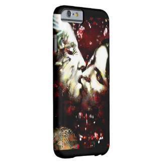 kissing in the rain barely there iPhone 6 case