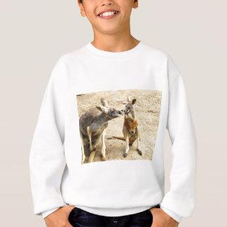 Kissing Kangaroos Sweatshirt