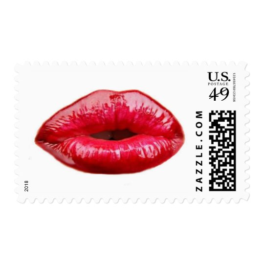 Kissing lips! postage