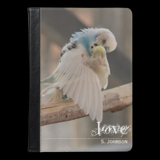 Kissing Love Birds Photo iPad Case / Kindle Case