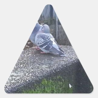 Kissing Pigeon Sticker