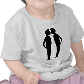 Kissing princes tshirts
