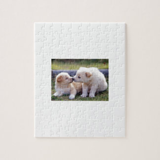 Kissing Puppies Jigsaw Puzzle