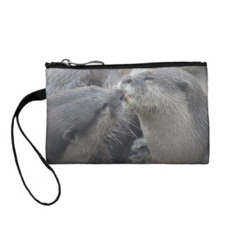 Kissing River Otters Coin Purse