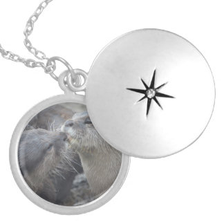 Kissing River Otters Necklaces