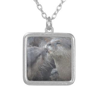 Kissing River Otters Custom Jewelry