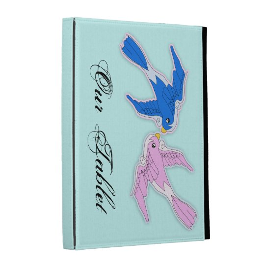 Kissing Swallows iPad case Template