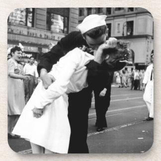 Kissing the War Goodbye at Times Square Coasters