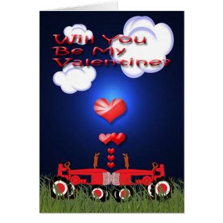 Kissing Tractors under Hearts