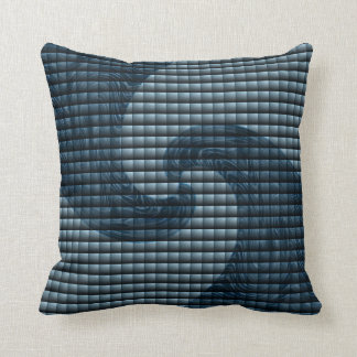Kissing Waves Throw Pillow