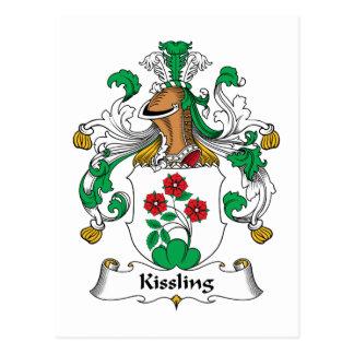 Kissling Family Crest Postcard
