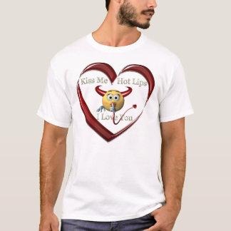 kissme hoplip heart T-Shirt