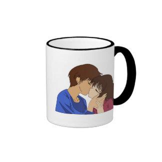 KissMe Ringer Coffee Mug