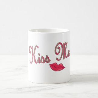 kissme classic white coffee mug