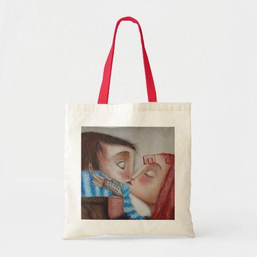 KISSSES BUDGET TOTE BAG