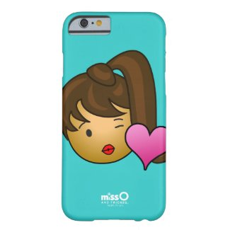 Kissy Face Girl: Izzy Barely There iPhone 6 Case