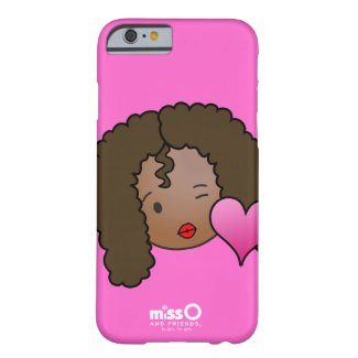 Kissy Face Girl - Justine Barely There iPhone 6 Case