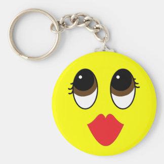 Kissy Face Keychain
