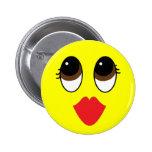 Kissy Face Pin