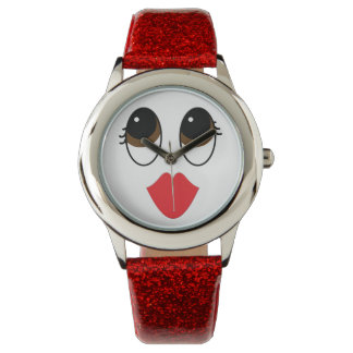 Kissy Face Wristwatch