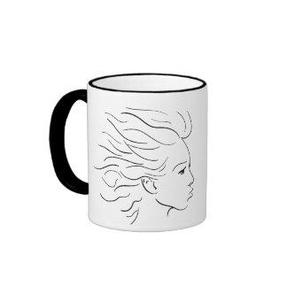 Kissy junta las tazas de café