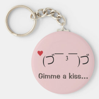 Kissy Keychain