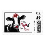 Kissy Lips Cow in the MOOd for Love Stamp