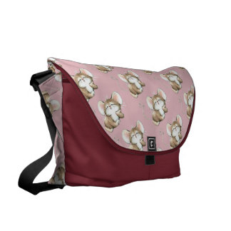 Kissy Mouse Courier Bag