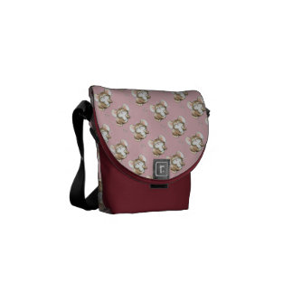 Kissy Mouse Messenger Bag