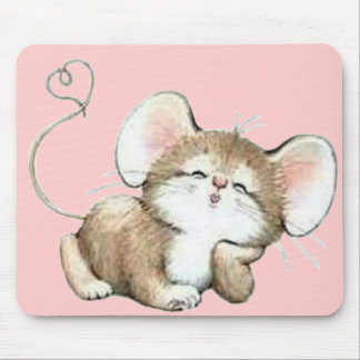 Kissy Mouse Mouse Pad