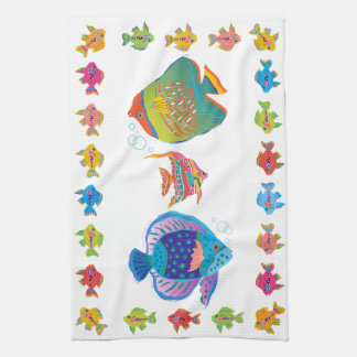 KissyFishThis Hand Towel