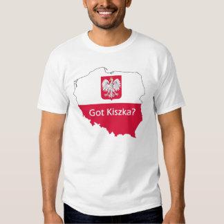 ¿Kiszka conseguido? Orgullo polaco Polera