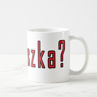 ¿kiszka conseguido? taza básica blanca
