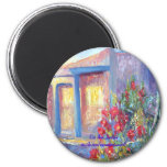 Kit Carson Avenue, Taos, New Mexico 2 Inch Round Magnet
