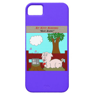 Kit Kitty Redefines:  Ham Radio iPhone SE/5/5s Case