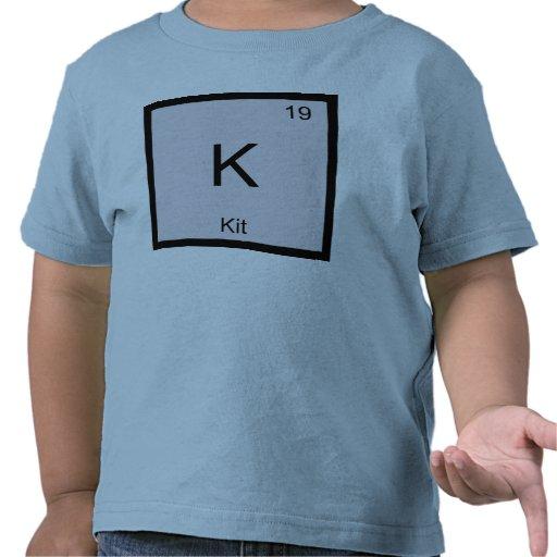 Kit Name Chemistry Element Periodic Table Shirts