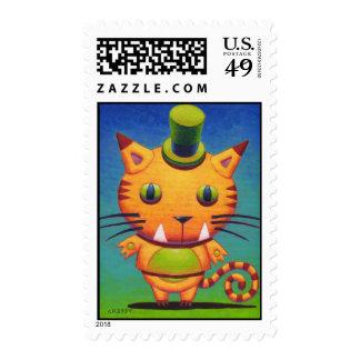 Kit Tee Kat Postage Stamps