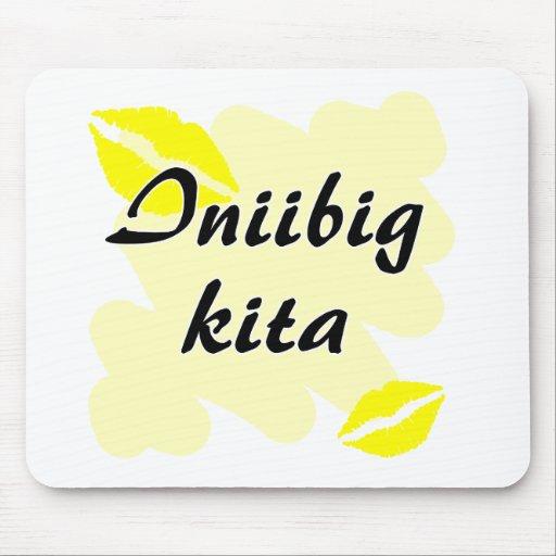 Kita de Iniibig - filipino te amo Alfombrillas De Raton