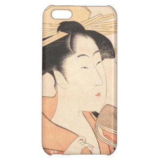 Kitagawa Utamaro Azumaya no Hana japanese lady art iPhone 5C Cover