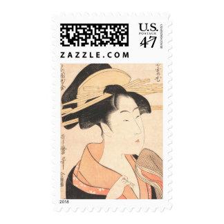Kitagawa Utamaro Azumaya no Hana japanese lady art Postage