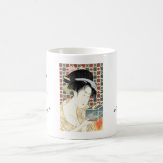 Kitagawa Utamaro Insect Cage japanese beauty lady Coffee Mug