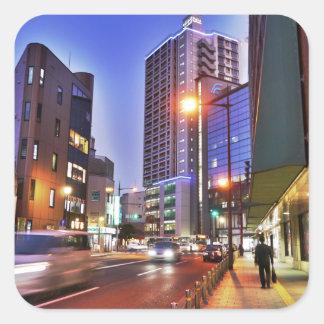 Kitakyushu, Japan Square Sticker